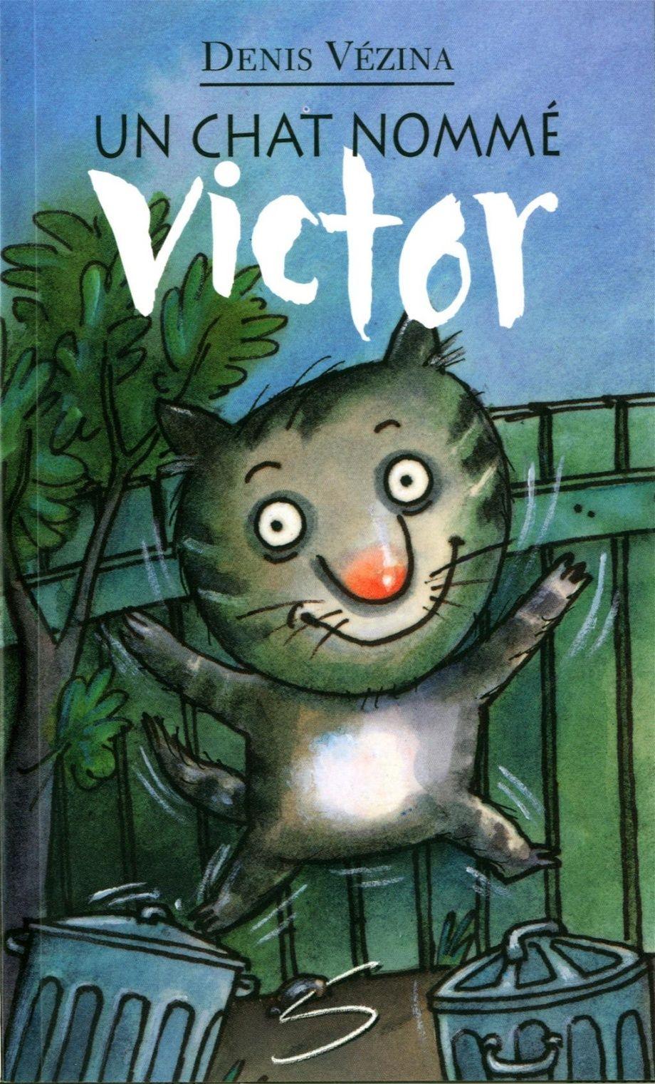 Un chat nommé Victor : un roman