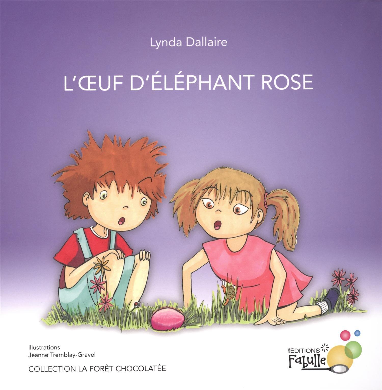 L'oeuf d'éléphant rose