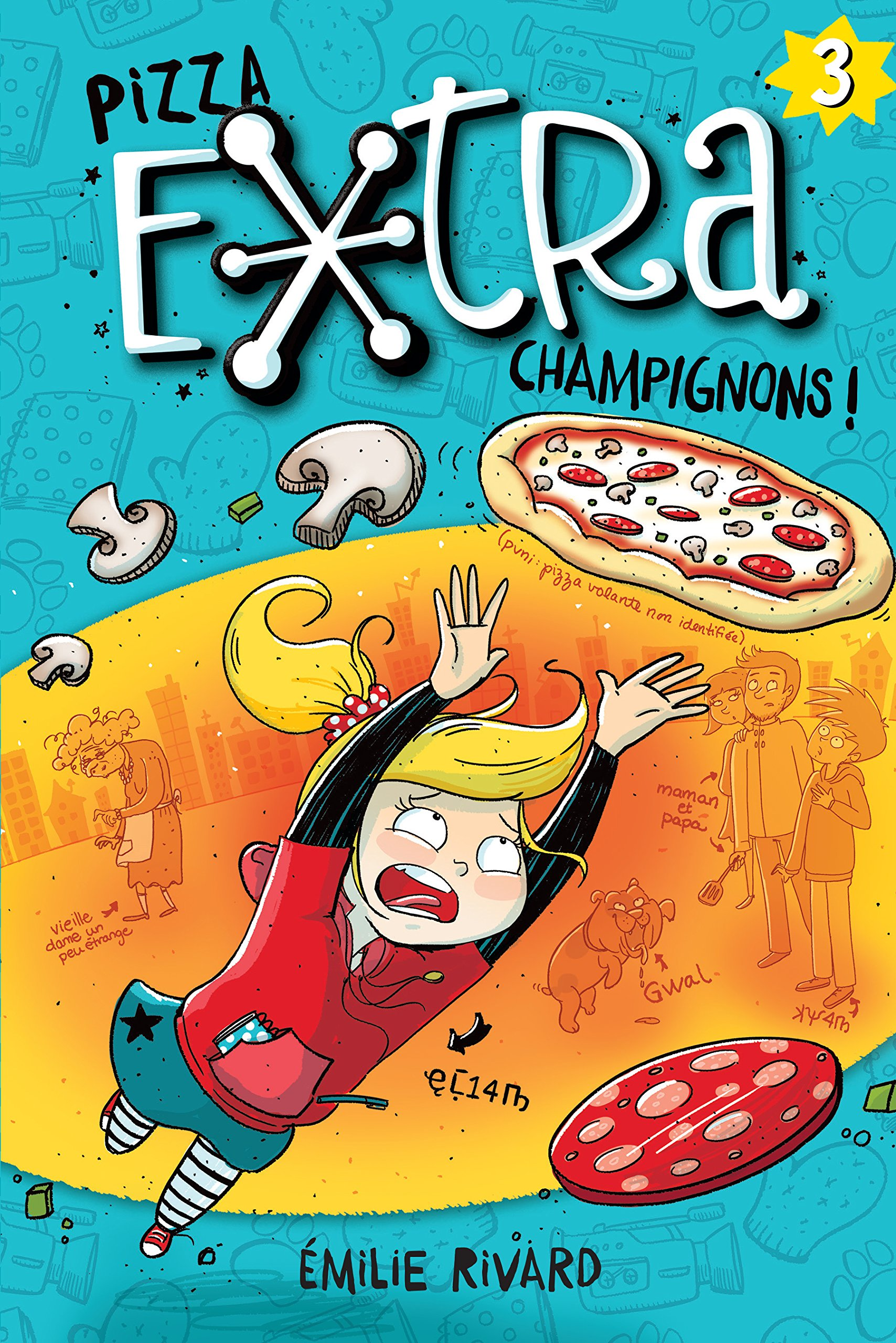 Pizza e[x]tra champignons!