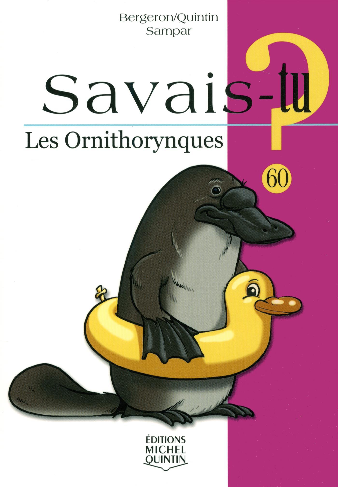 Les ornithorynques