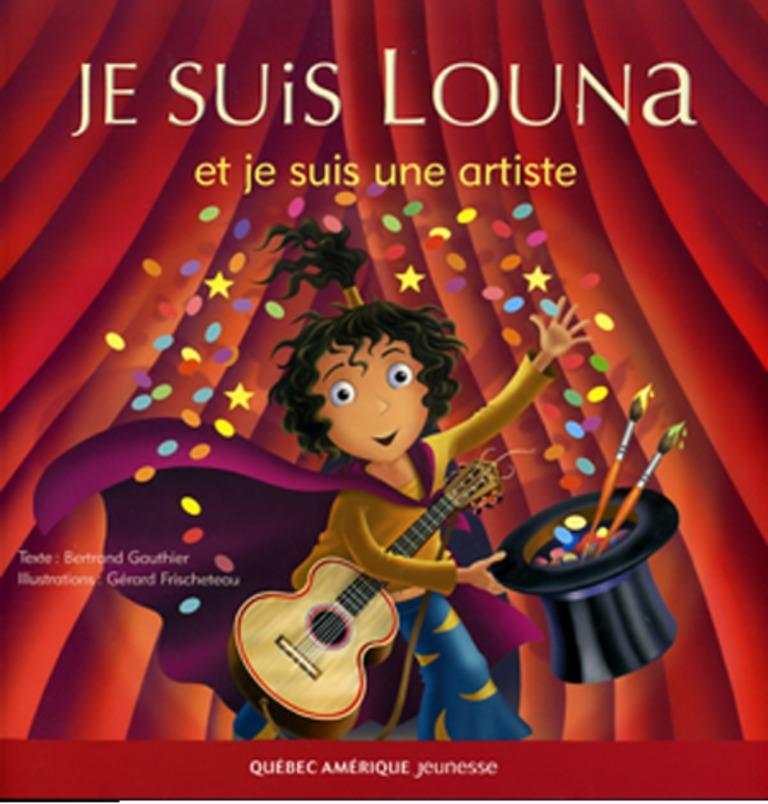 Je suis Louna et je suis une artiste