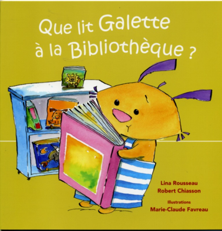 Que lit Galette à la bibliothèque?
