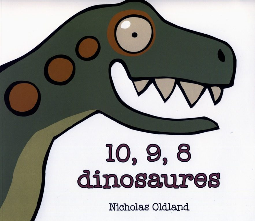 10, 9, 8 dinosaures