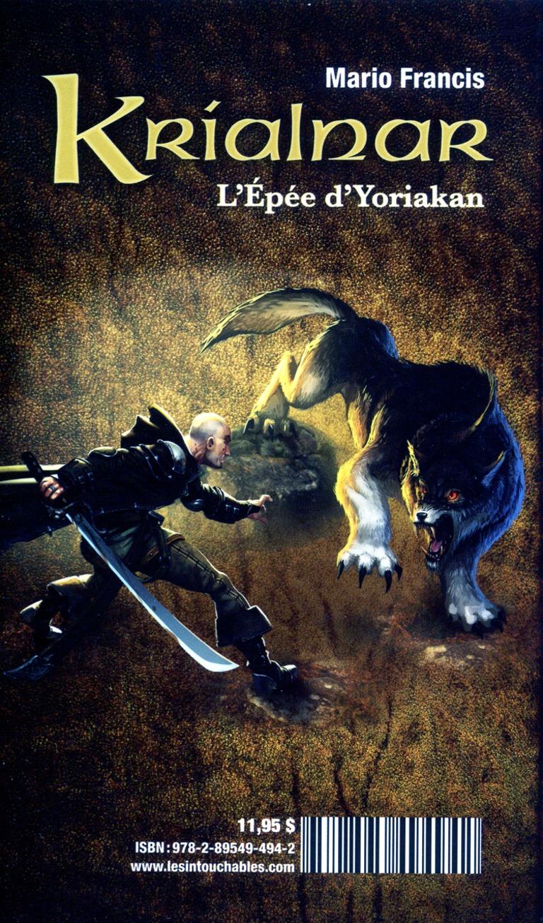 L'épée d'Yoriakan