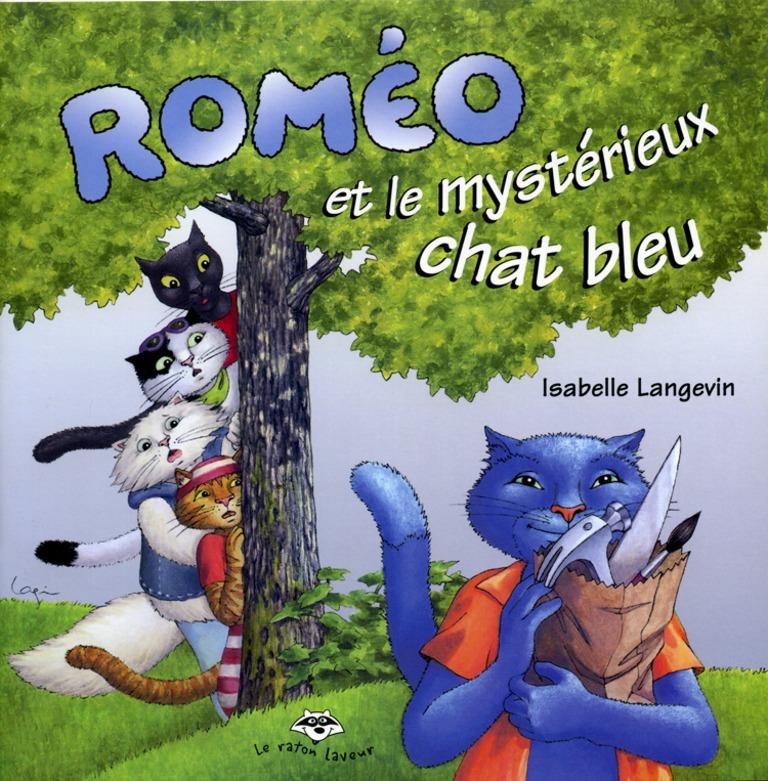 Roméo et le mystérieux chat bleu