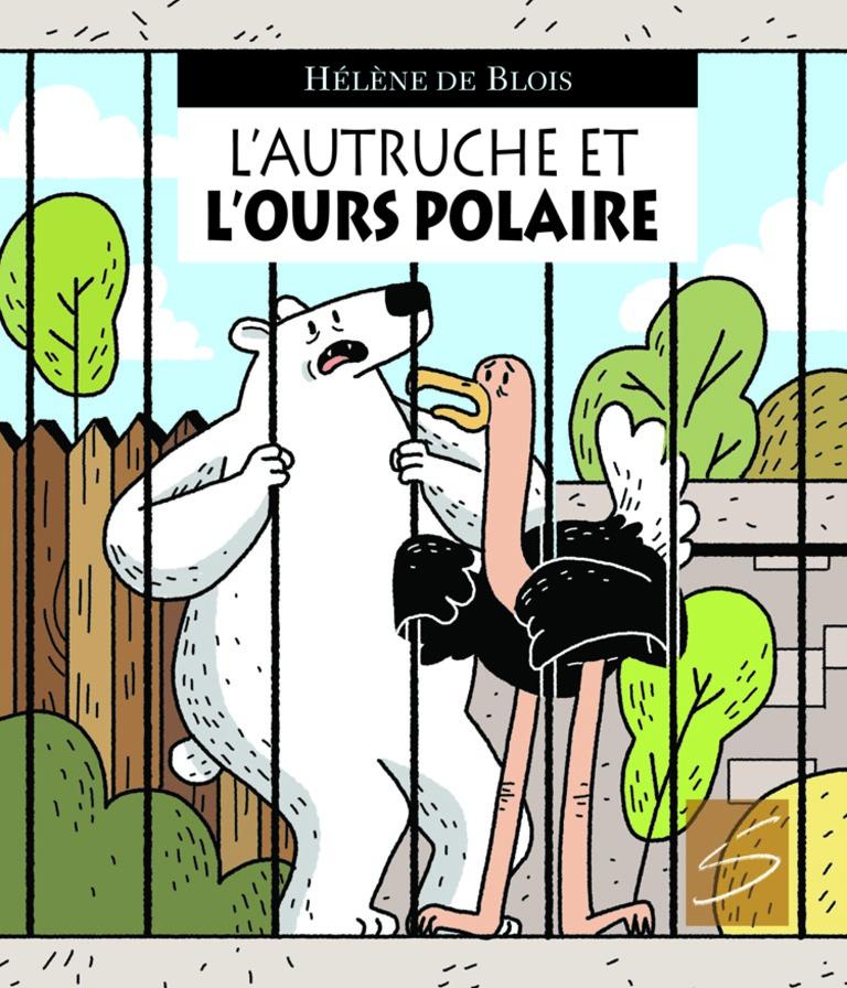 L'autruche et l'ours polaire