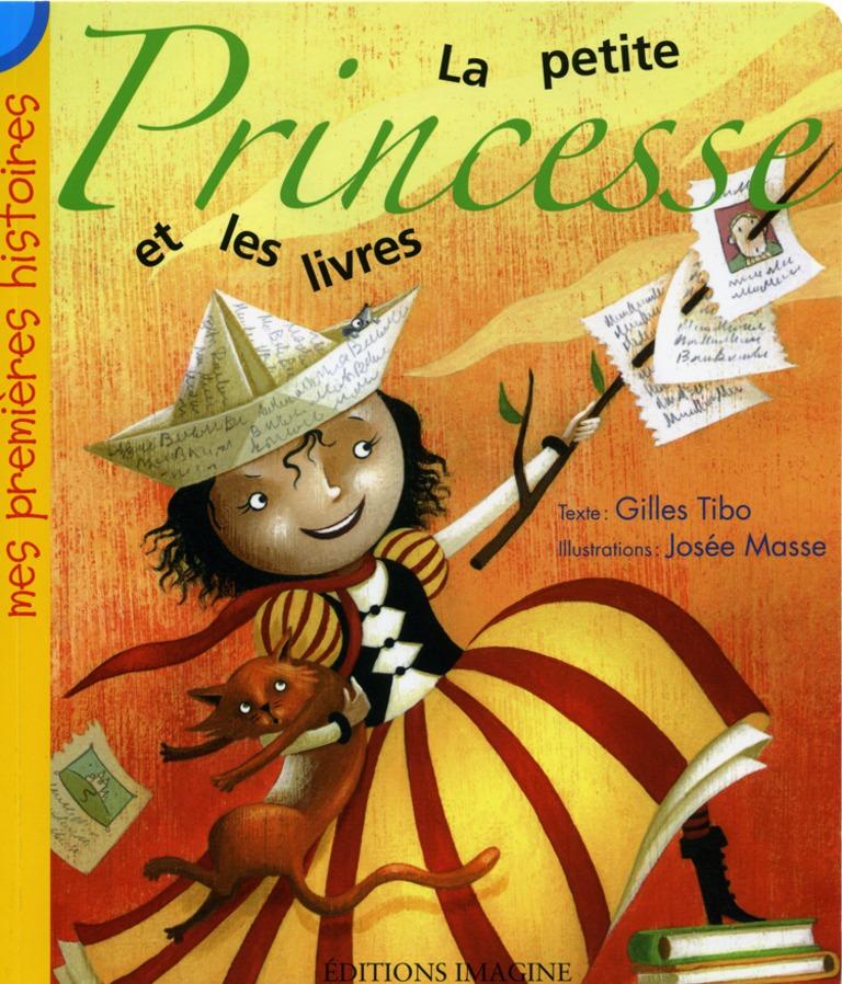 La petite Princesse et les livres