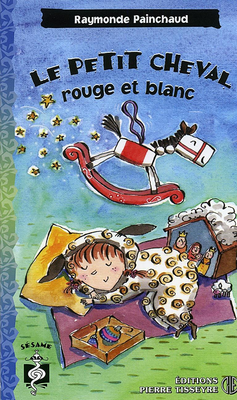 Le petit cheval rouge et blanc : roman