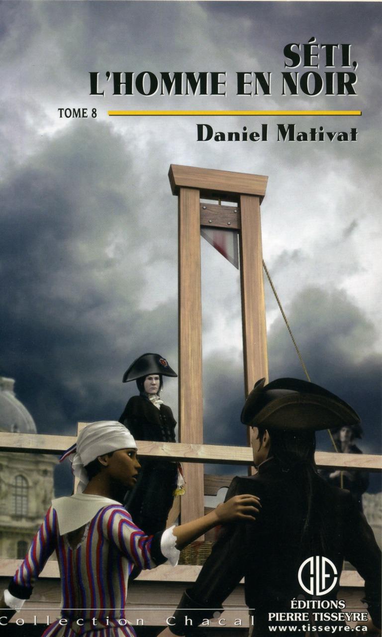 Séti, l'homme en noir : roman