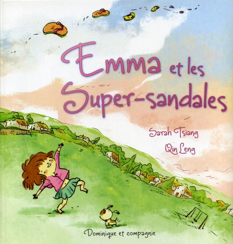 Emma et les super-sandales