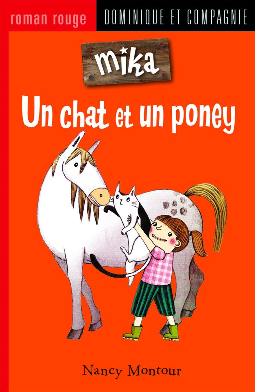 Un chat et un poney