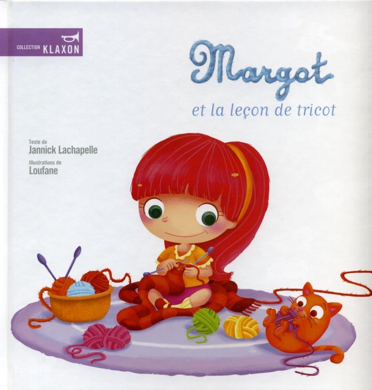 Margot et la leçon de tricot