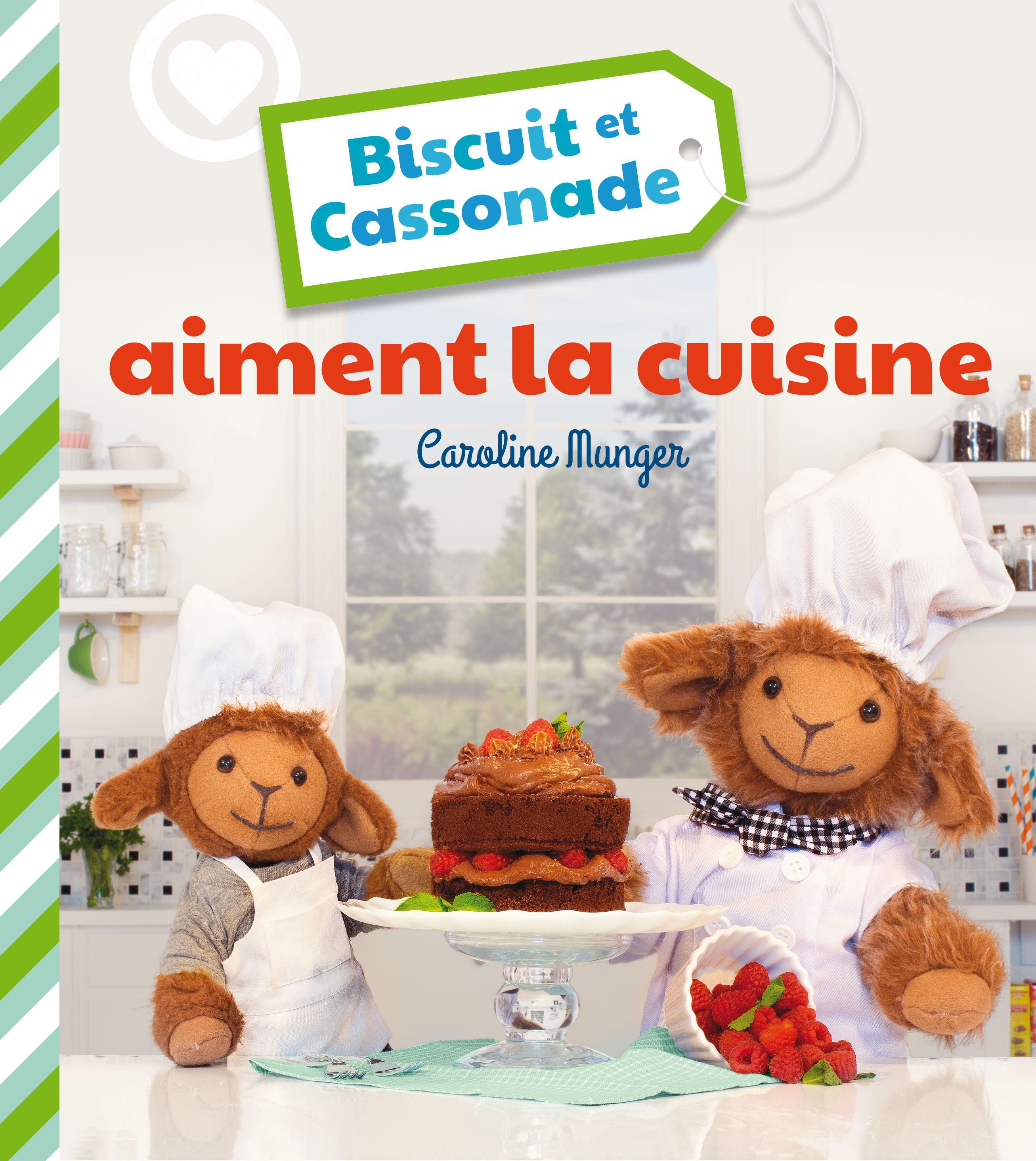 Biscuit et Cassonade aiment la cuisine