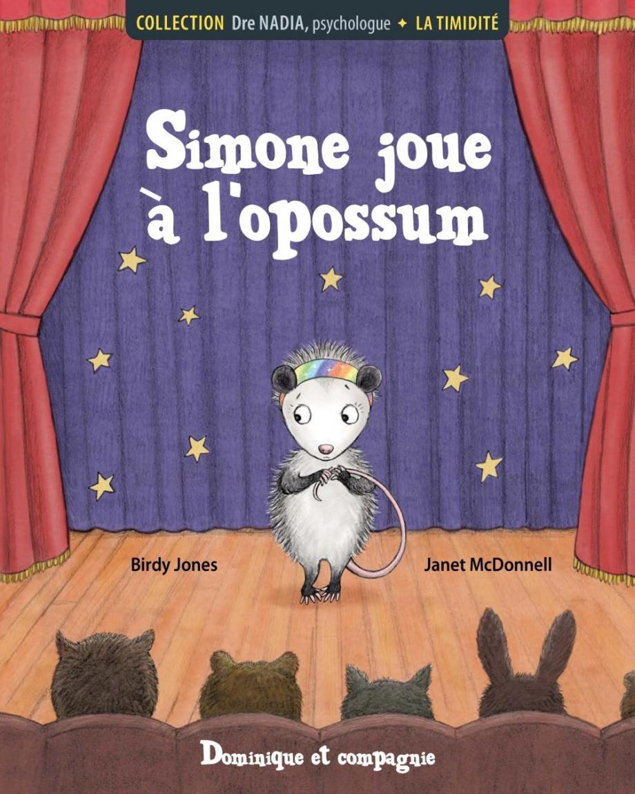 Simone joue à l'opossum