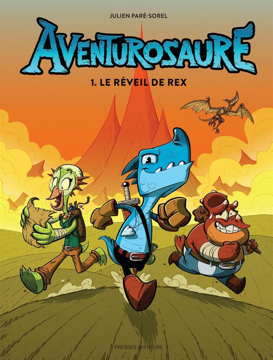 Aventurosaure : Le réveil de Rex