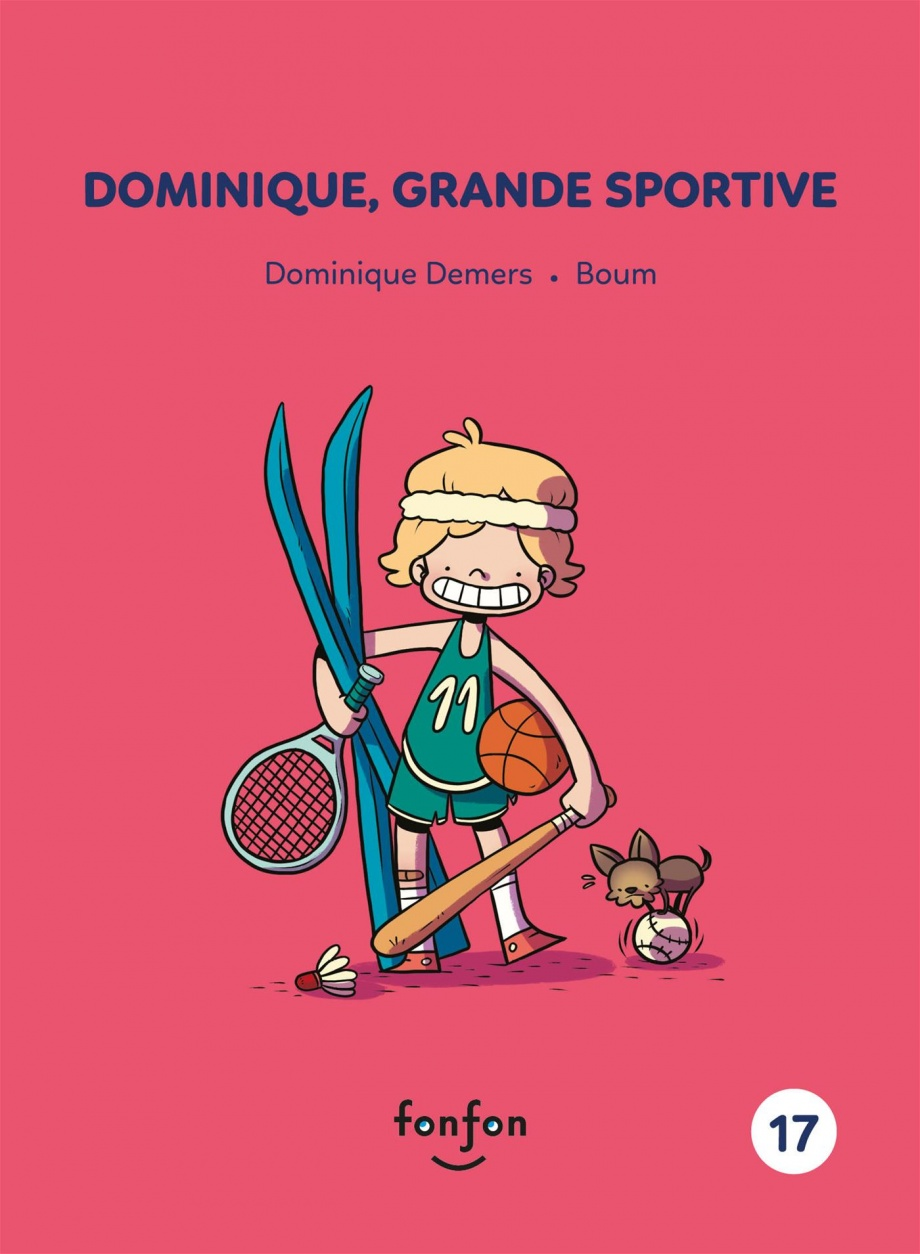 Dominique, grande sportive