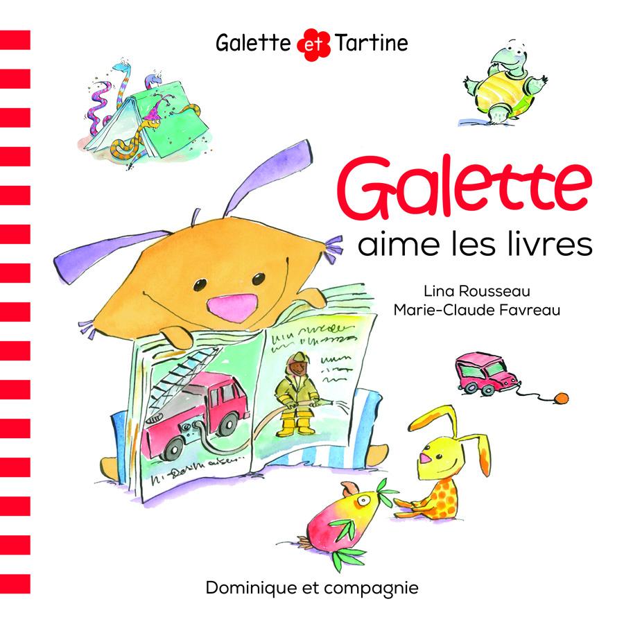 Galette aime les livres