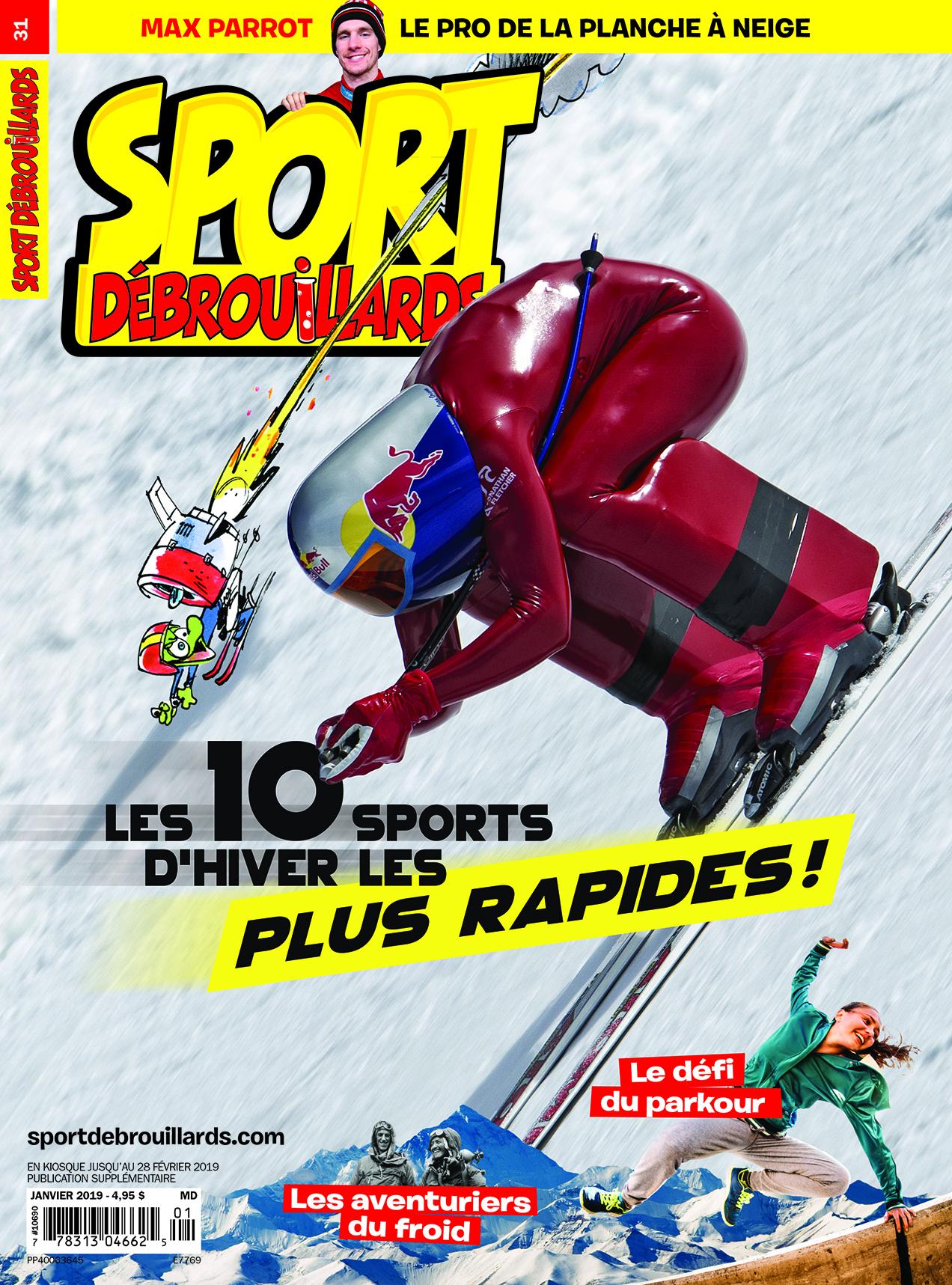 Sport Débrouillards, no 31, Janvier 2019