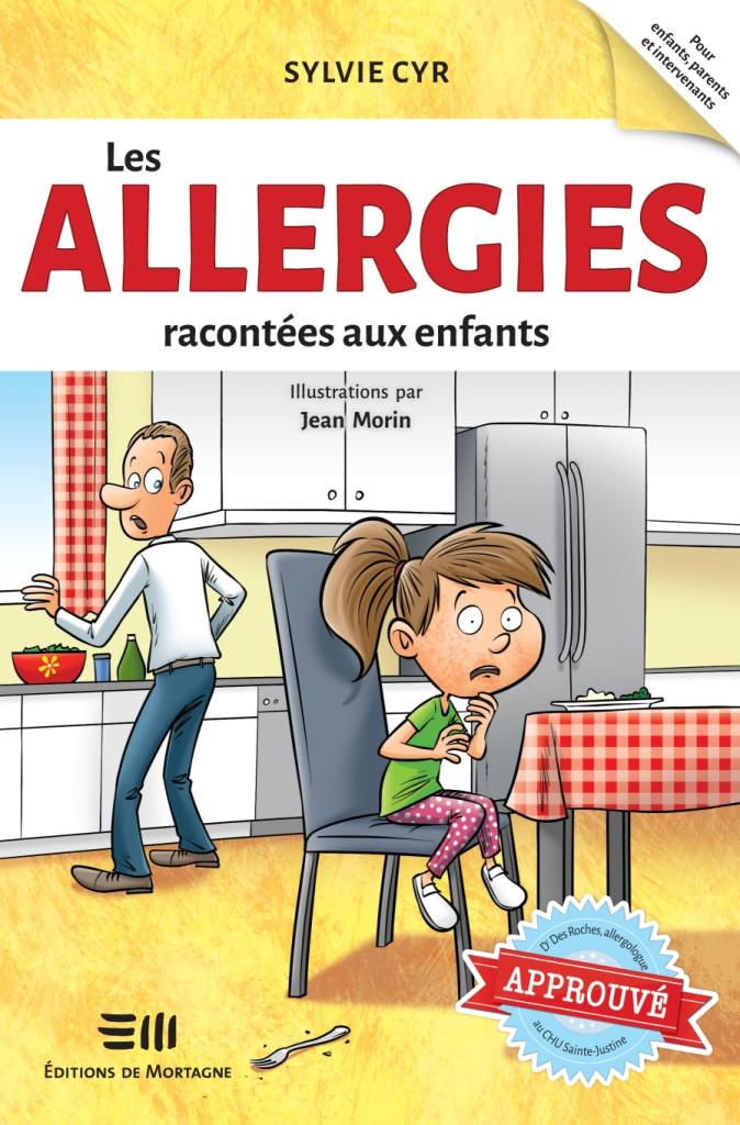 Les allergies racontées aux enfants