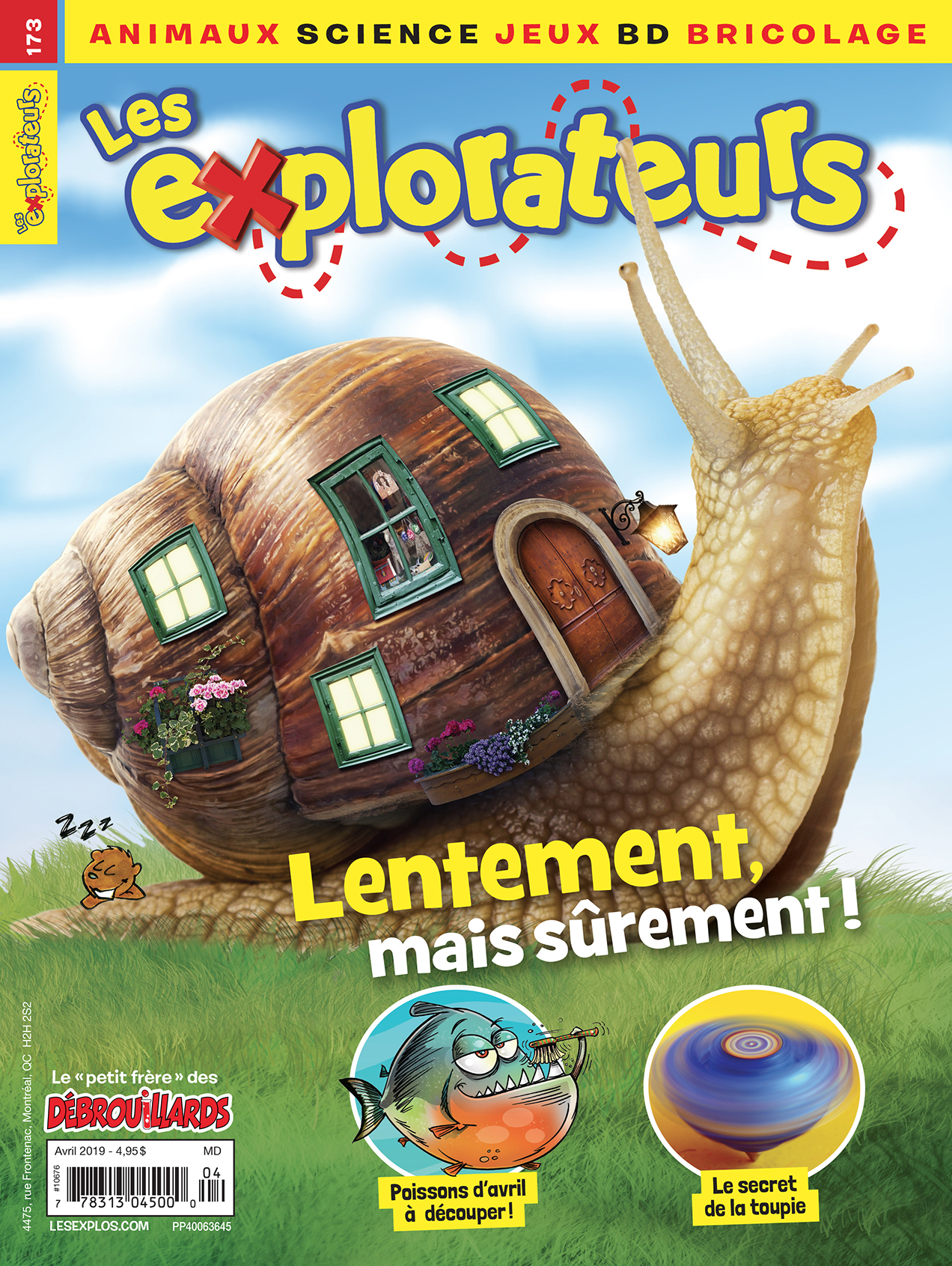Les Explorateurs, no 173, Avril 2019