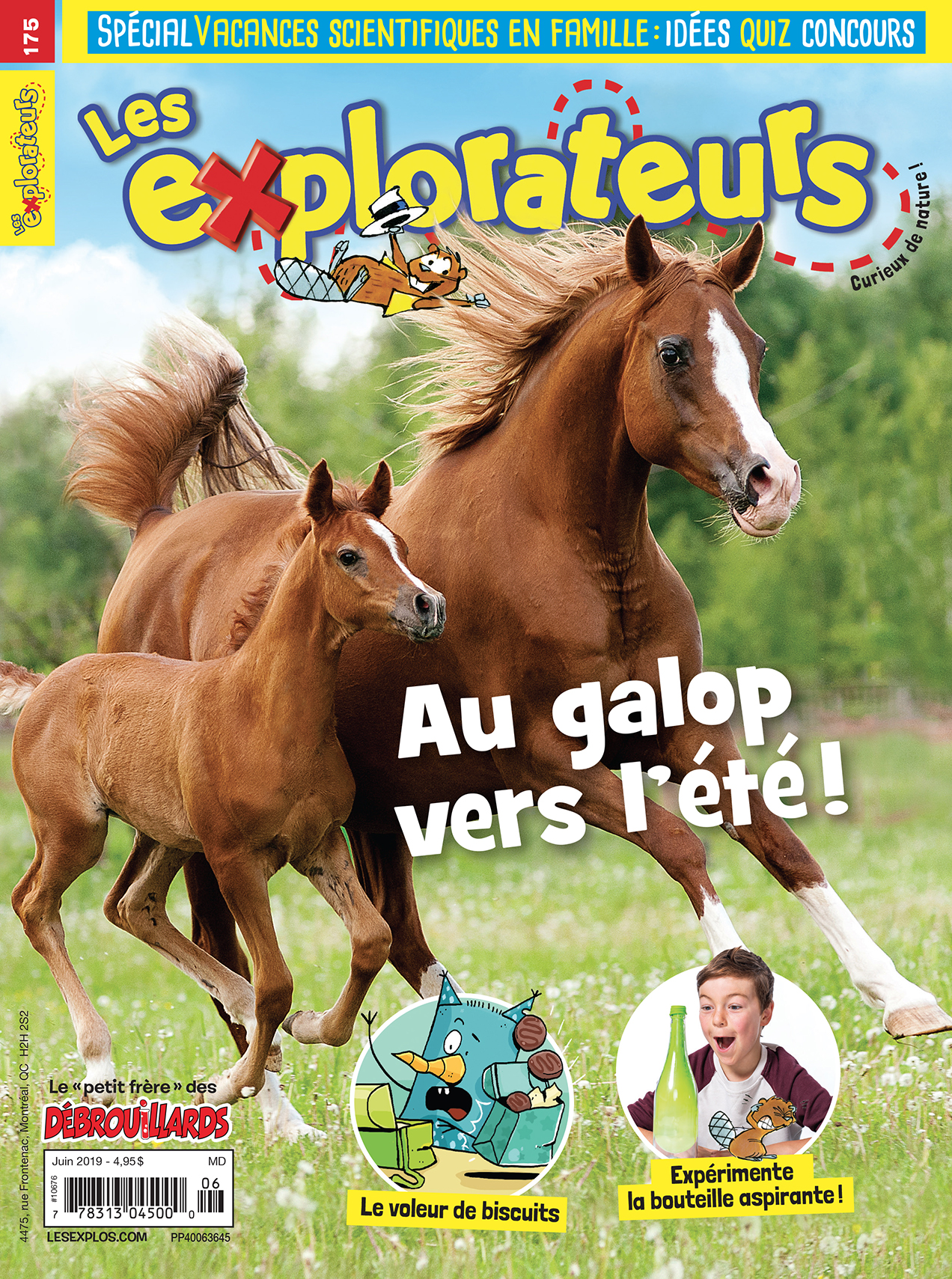 Les Explorateurs, no 175, Juin 2019