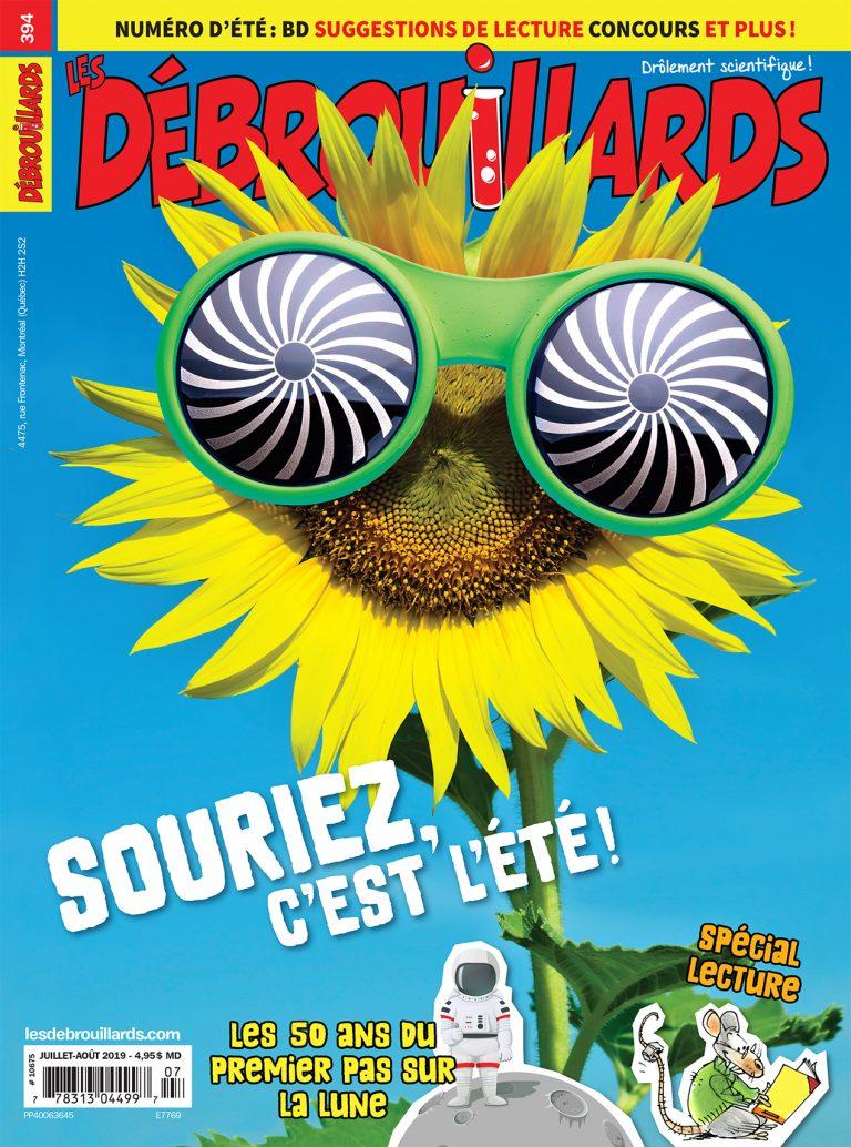 Les Débrouillards, no 394, Juilet-Août 2019