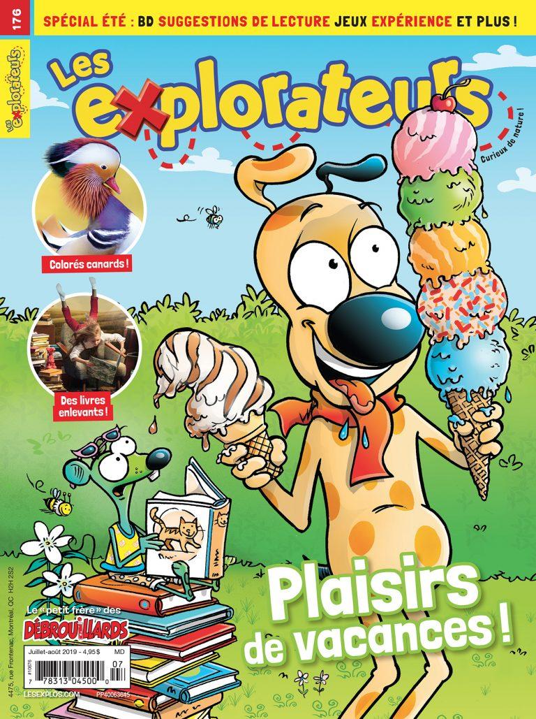 Les Explorateurs, no 176, Juilet-Août 2019