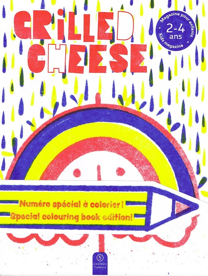 Grilled cheese no 6 Couleurs