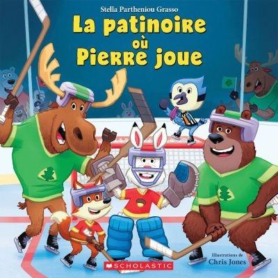 La patinoire où Pierre joue