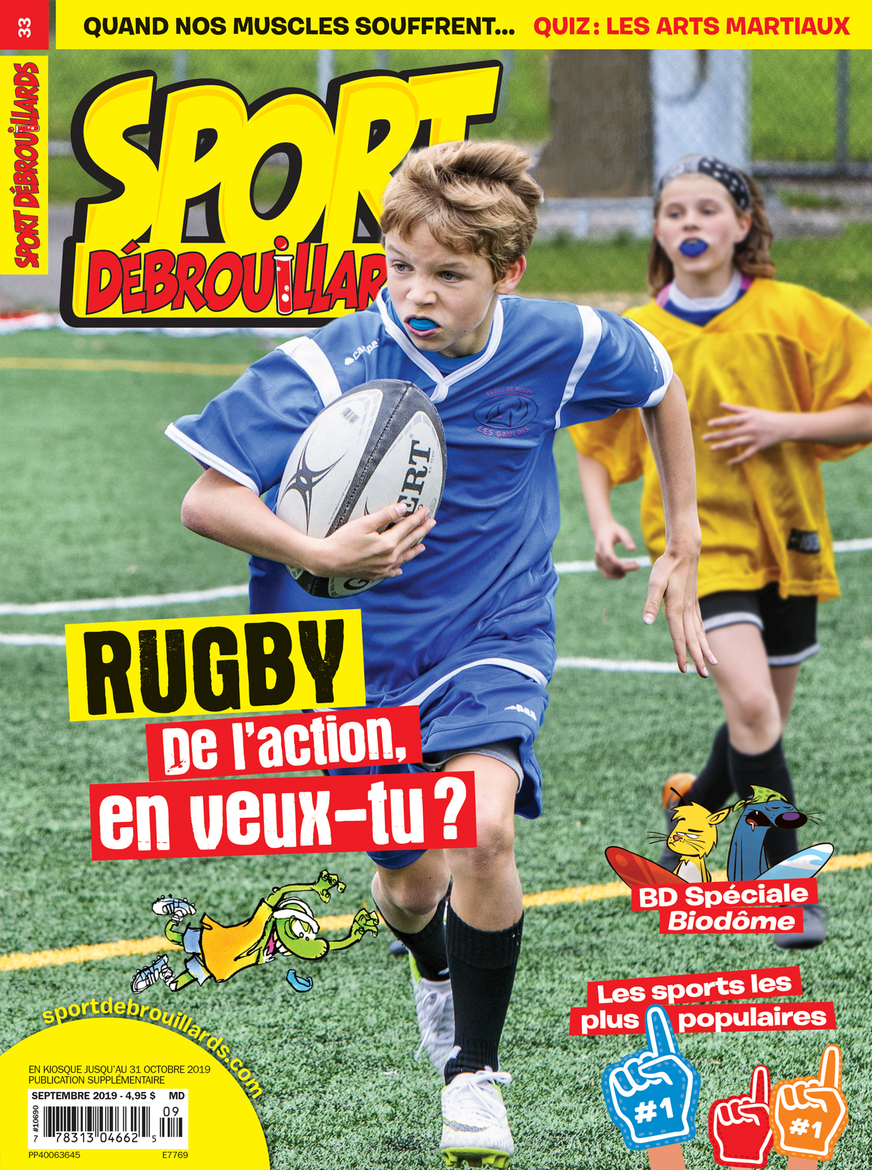 Sport Débrouillards, no 33, Septembre 2019