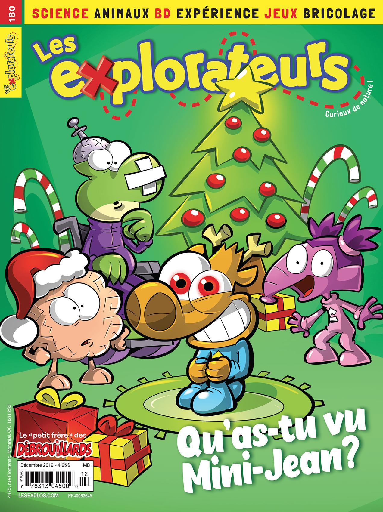 Les Explorateurs, no 180, Décembre 2019