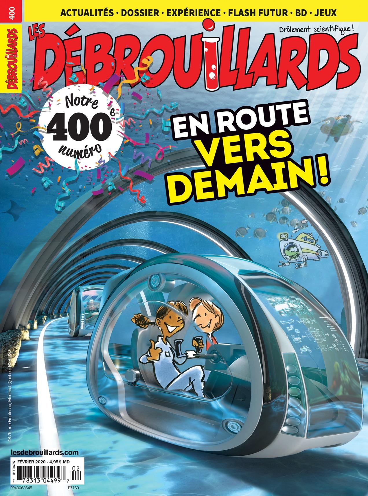 Les Débrouillards, no 400, février 2020