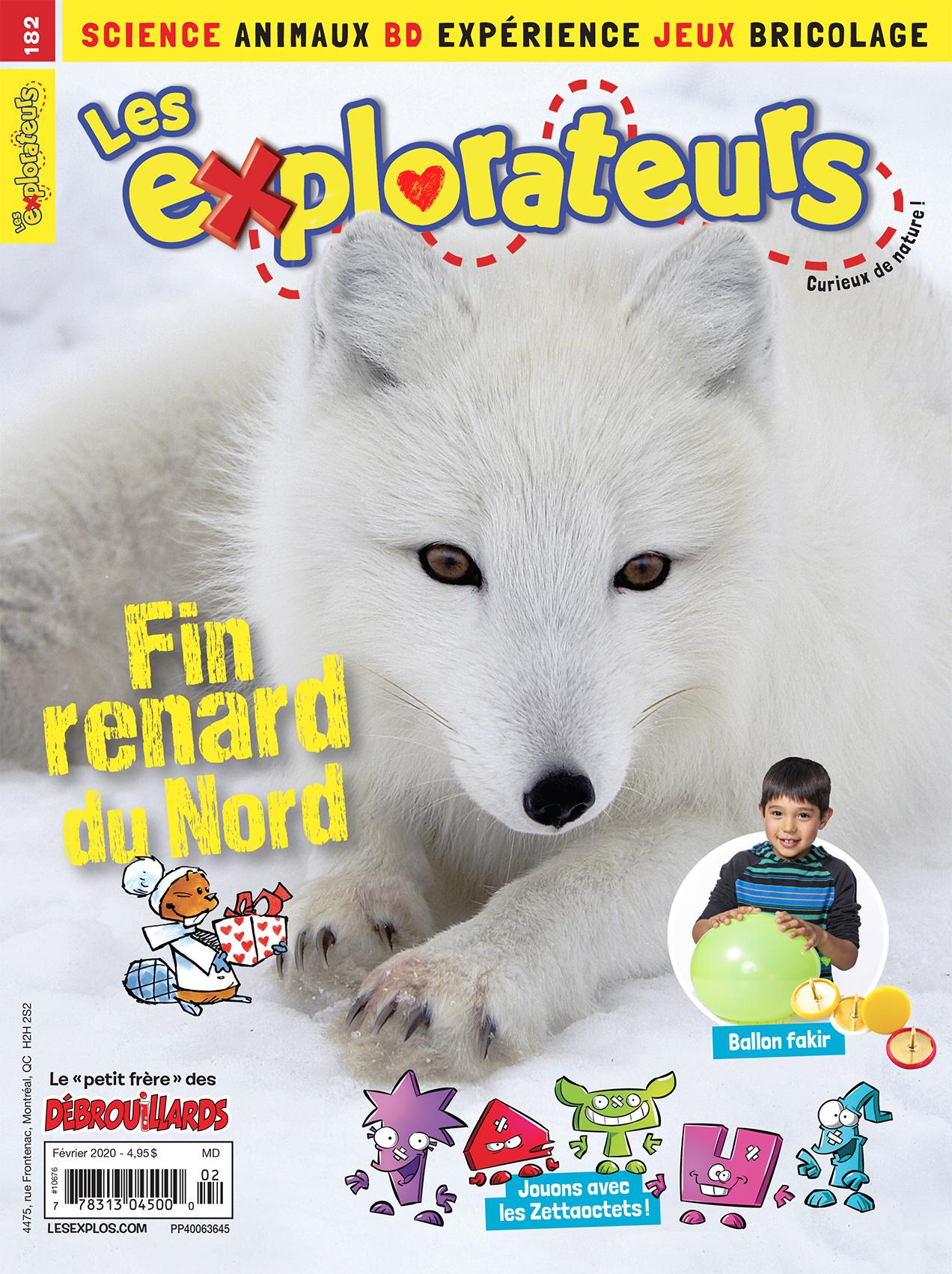 Les Explorateurs, no 182, février 2020