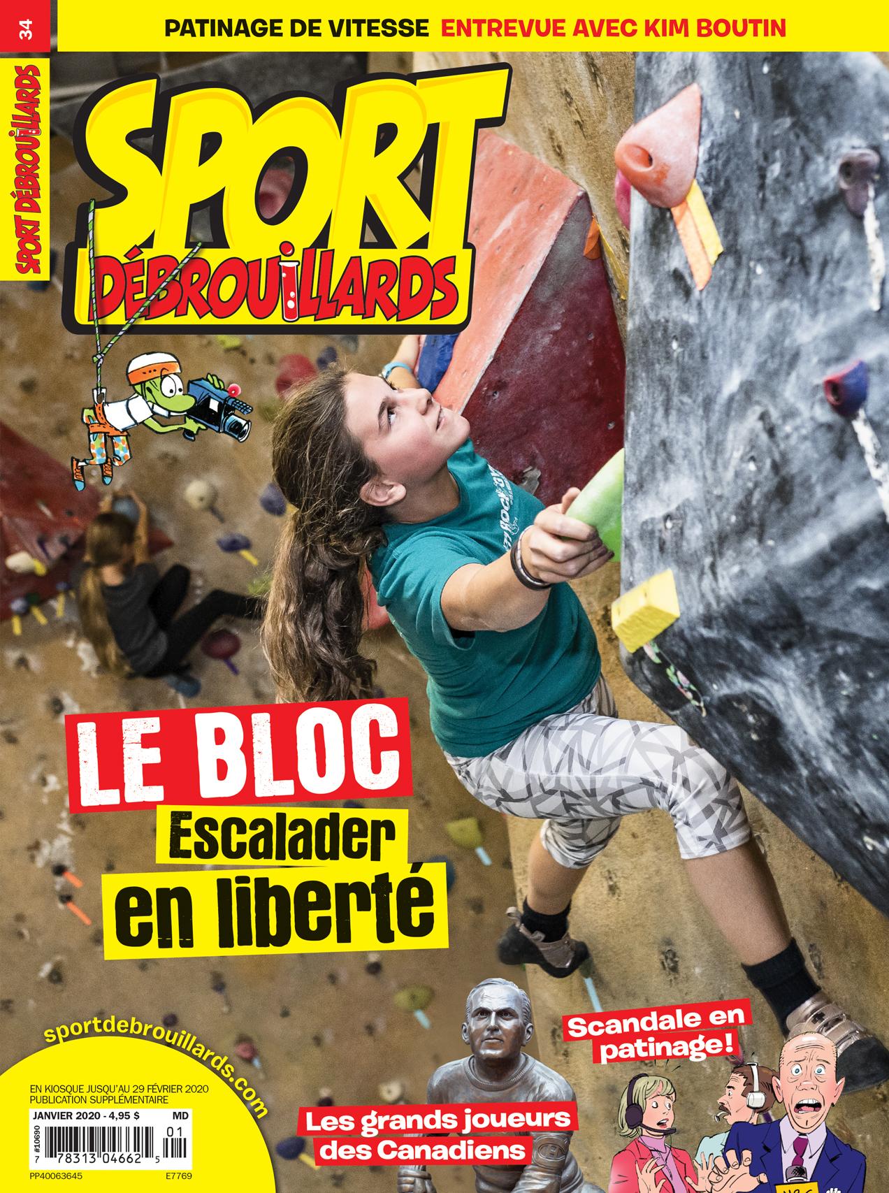 Sport Débrouillards, no 34, janvier 2020