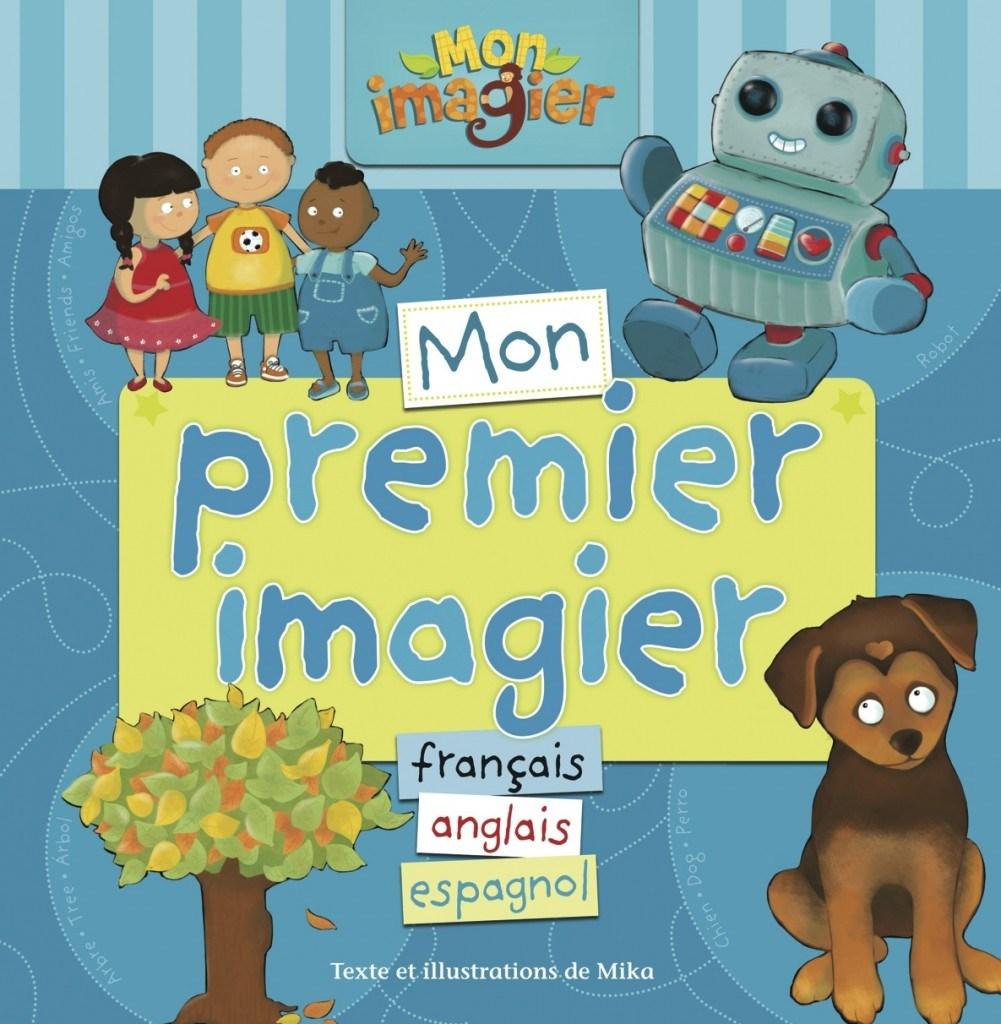 Mon premier imagier français, anglais, espagnol