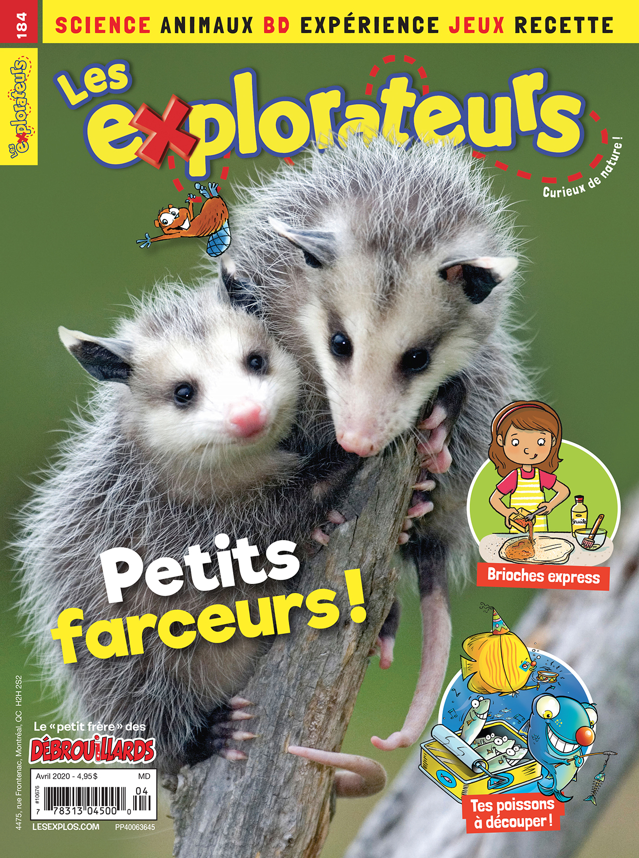 Les Explorateurs, no 184, avril 2020