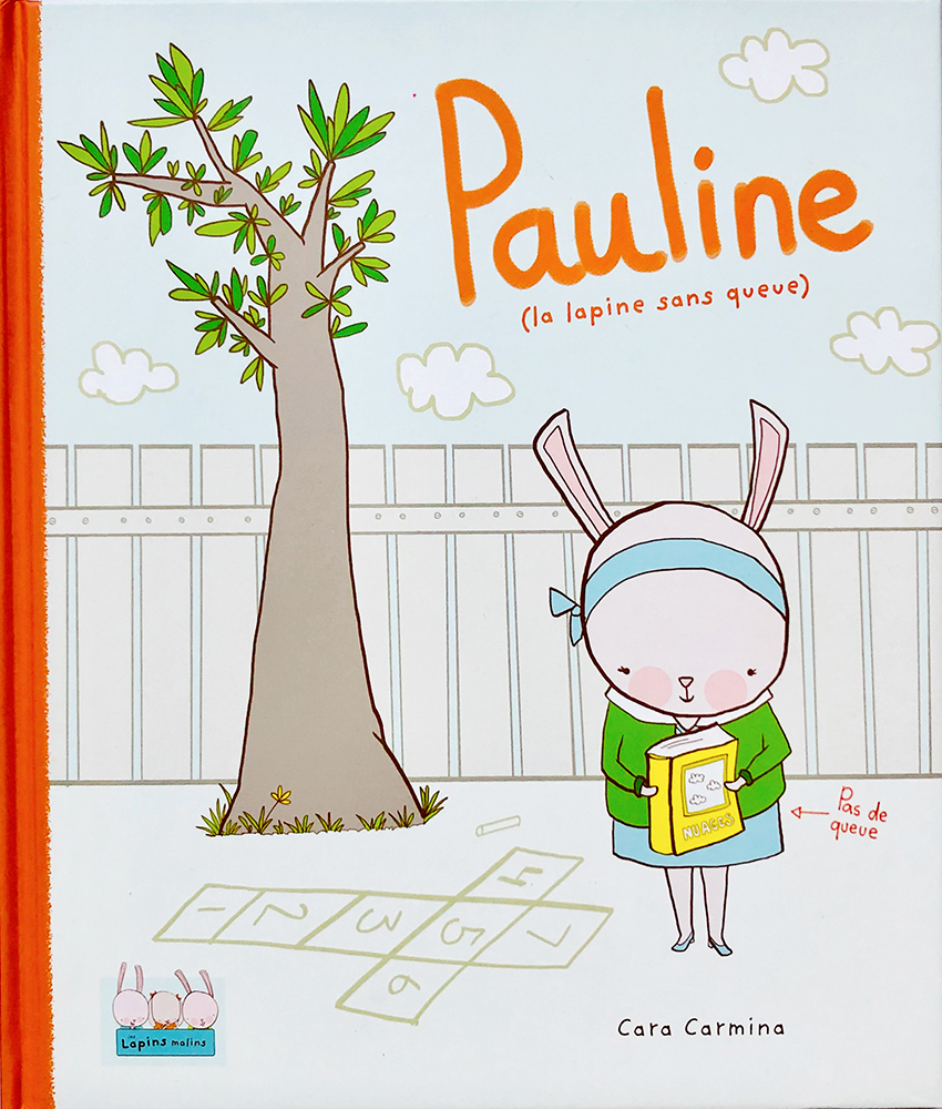Pauline : la lapine sans queue