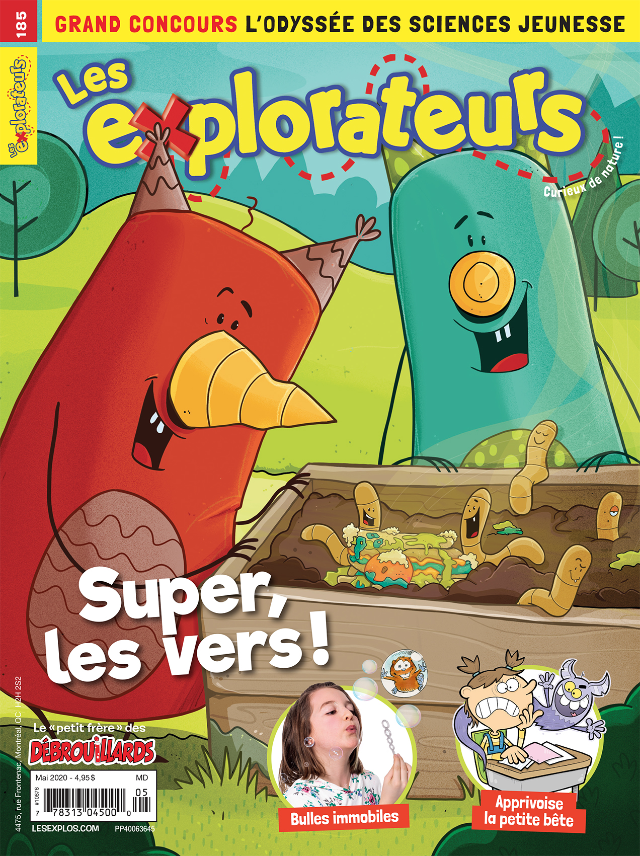 Les Explorateurs, no 185, mai 2020