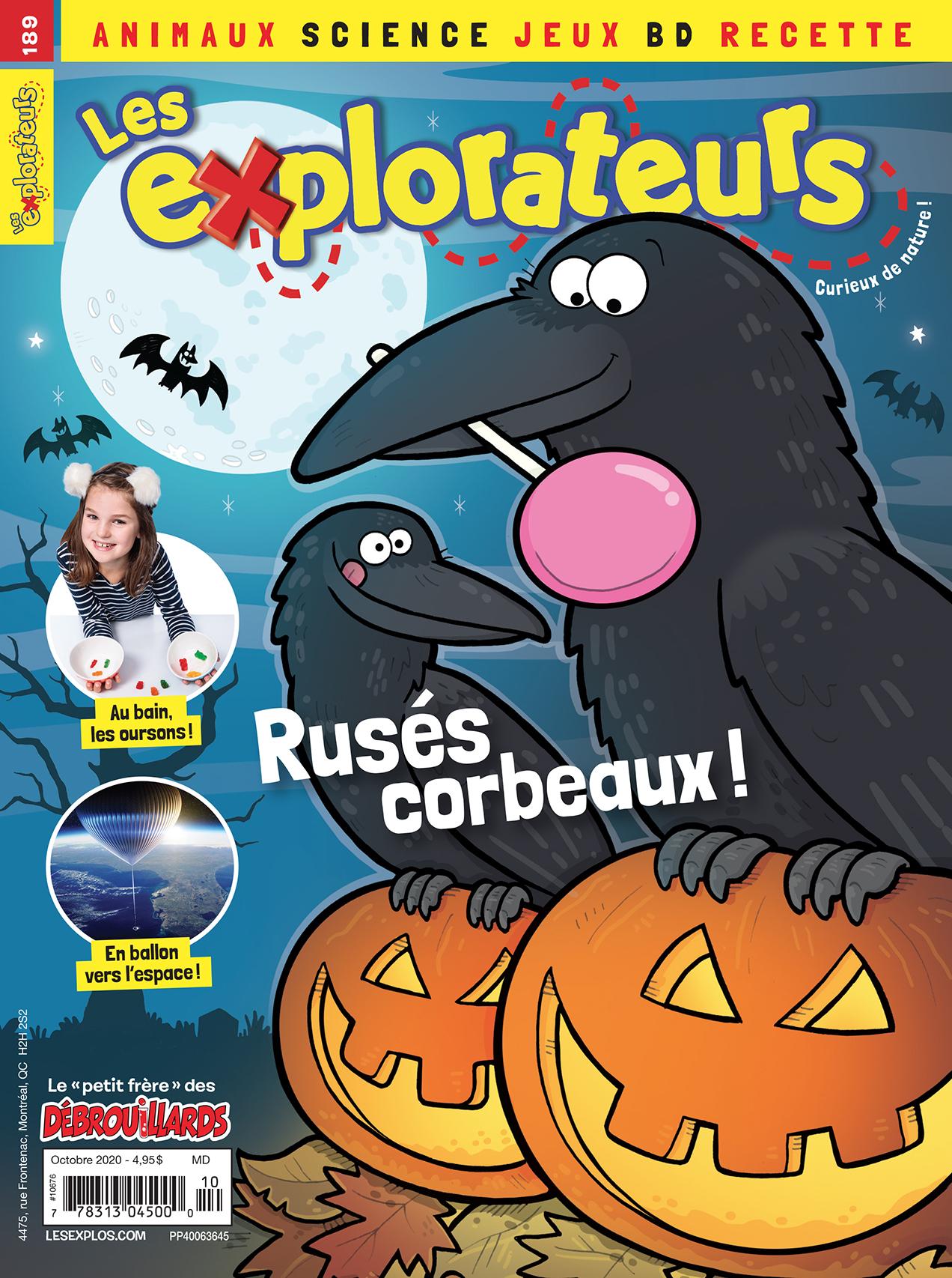 Les Explorateurs, no 189, octobre 2020