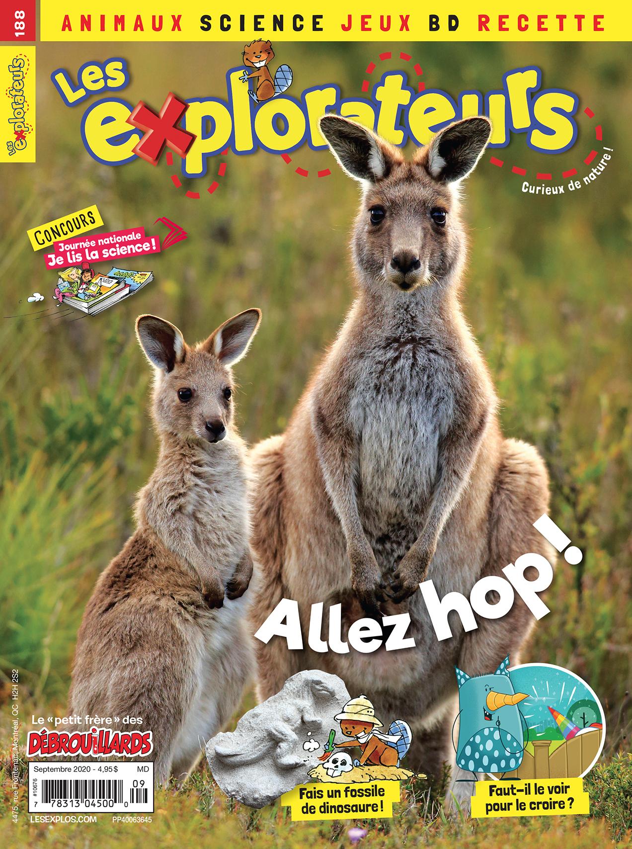 Les Explorateurs, no 188, septembre 2020