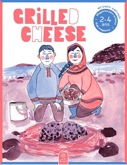 Grilled cheese no 10 Nunavik