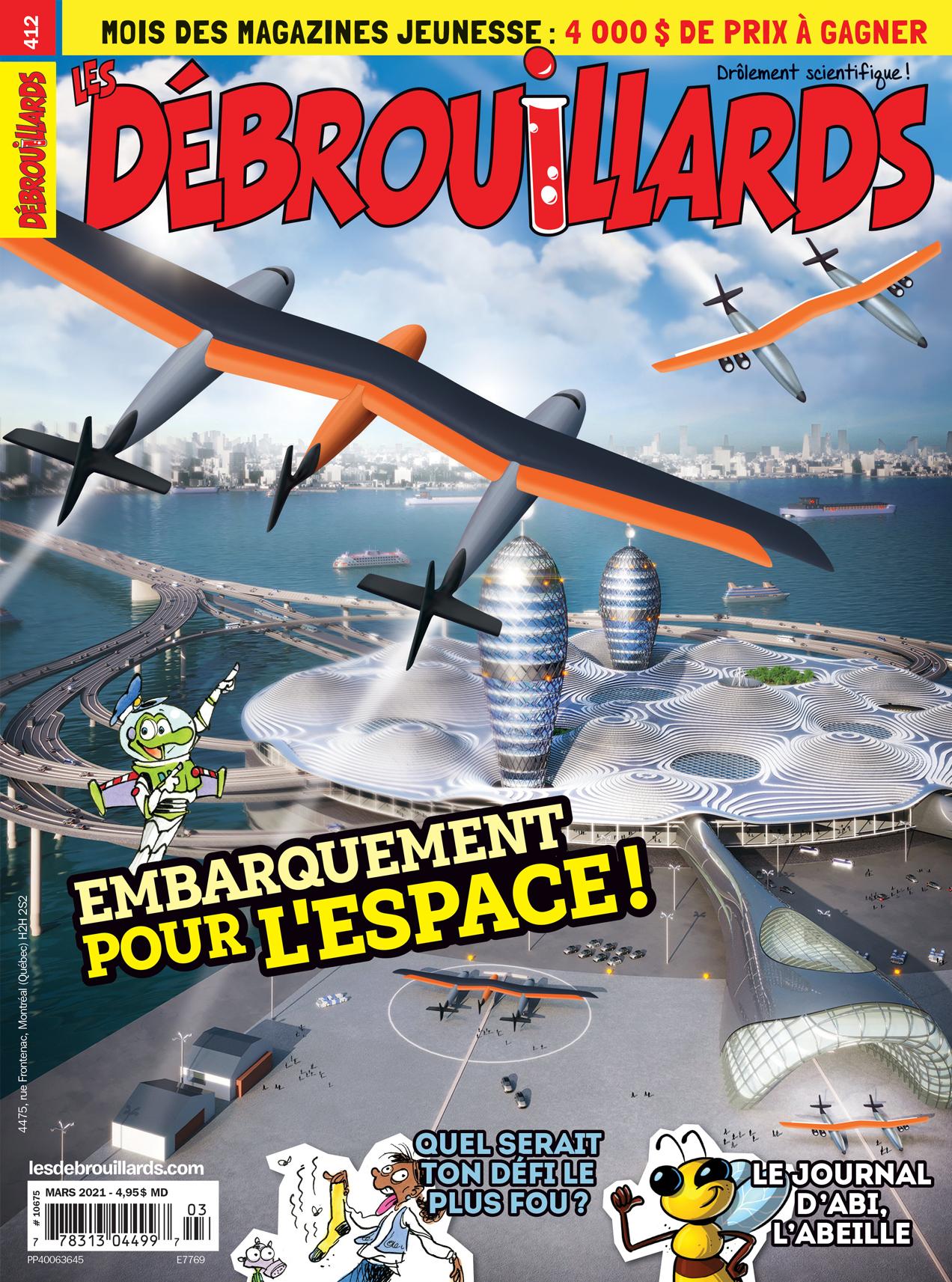 Les Débrouillards, no 412, mars 2021