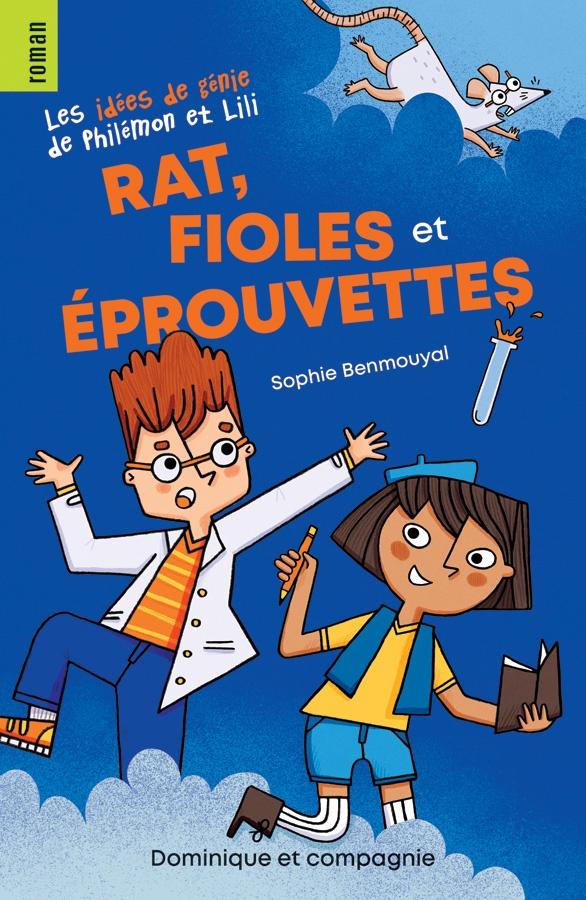 Rat, fioles et éprouvettes
