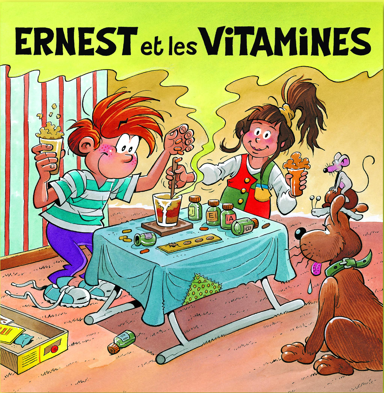 Ernest et les vitamines