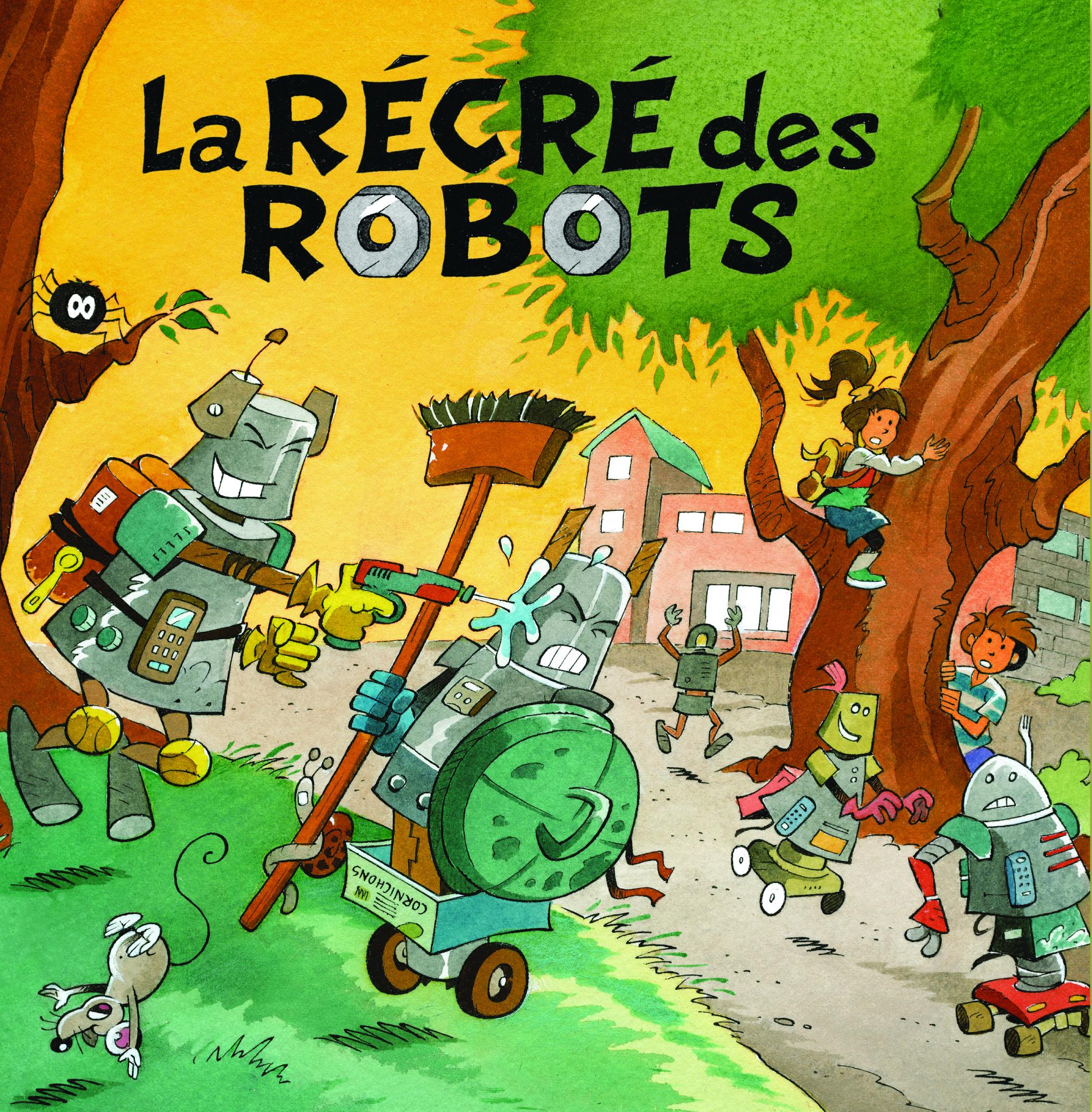 La récré des robots