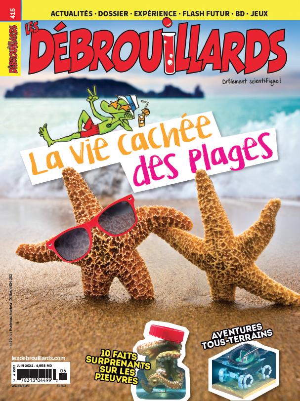 Les Débrouillards, no 415, juin 2021
