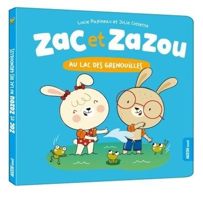 Zac et Zazou au lac des grenouilles